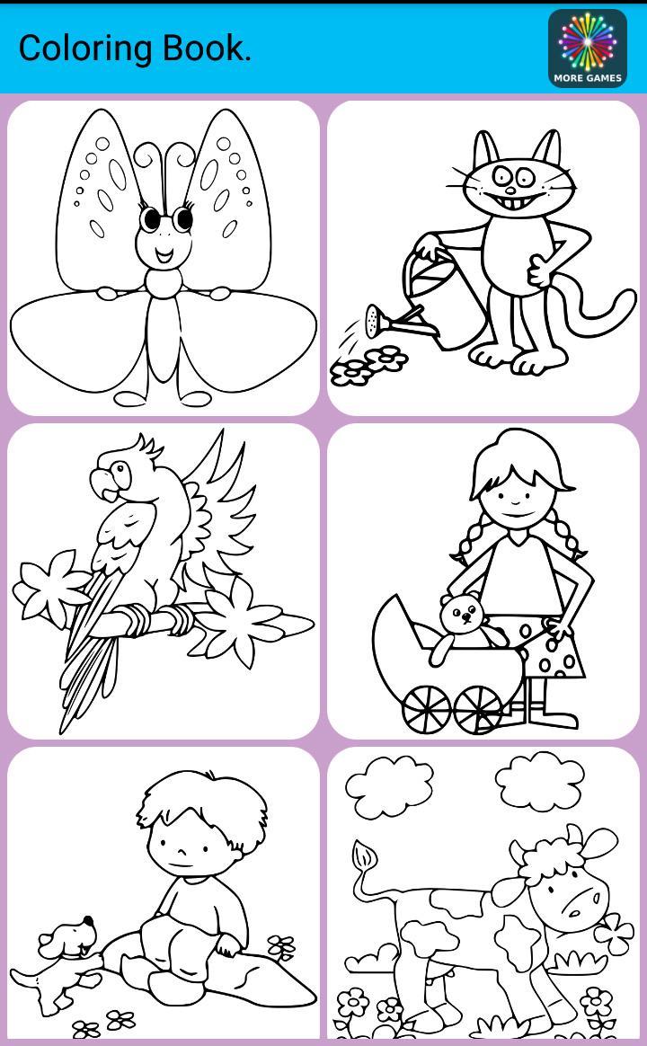 儿童填色涂鸦 v2.24