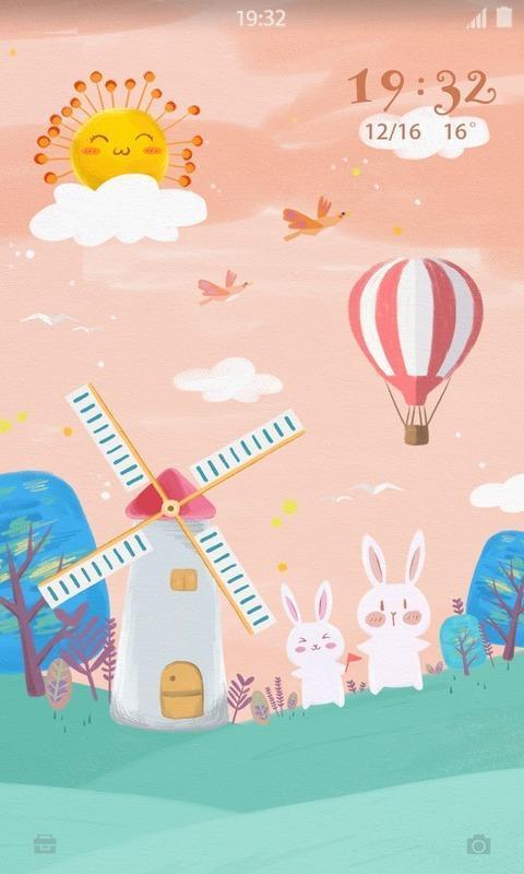 兔兔壁纸锁屏
