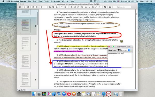 PDF Document Reader