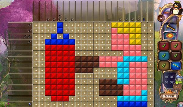 幻想马赛克20谜题城堡