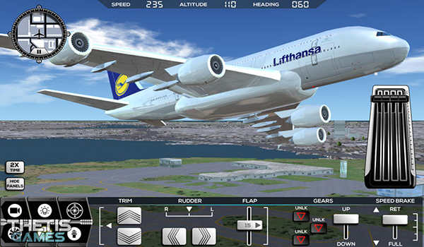 模拟飞行驾驶2017