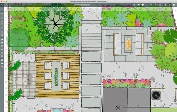 家庭外景景观设计