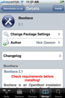 只需几步就可搞定 iPhone可装Android双启动