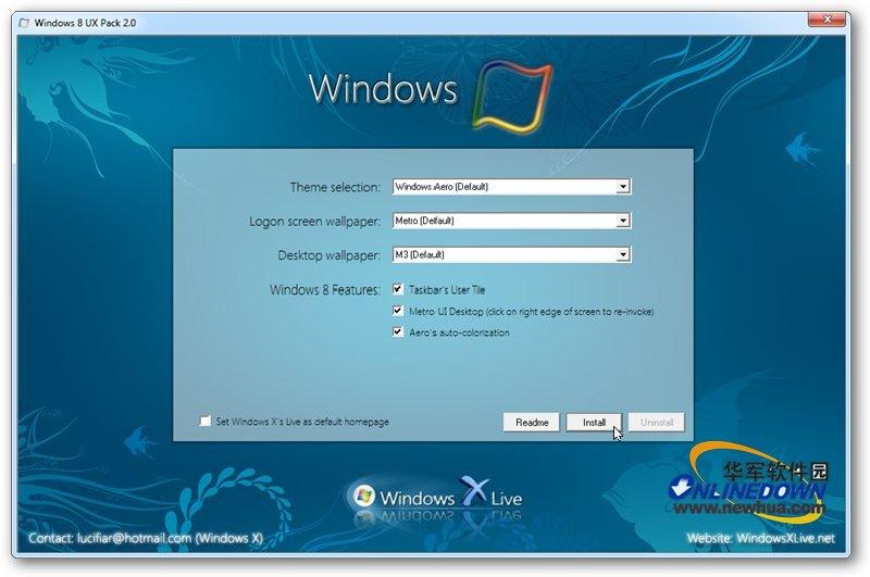 让Windows 7变脸Windows 8