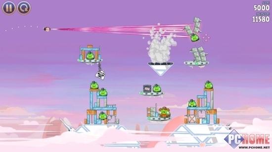 Win8版的愤怒的小鸟星战版时隔半年才更新