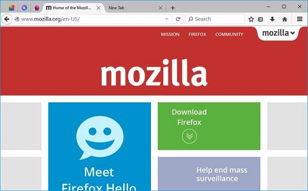 Mozilla公布Win10版火狐全新界面:操作更简便