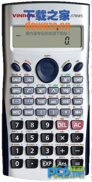 卡西欧Vn-570M模拟计算器