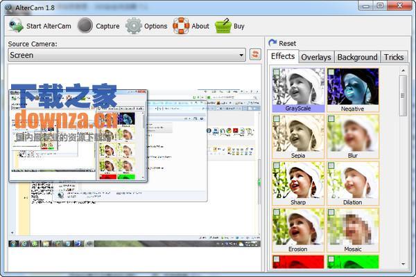 AlterCam(摄像头效果软件)