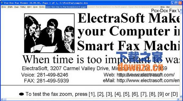 网络传真浏览器(Pcx-Dcx Fax Viewer)