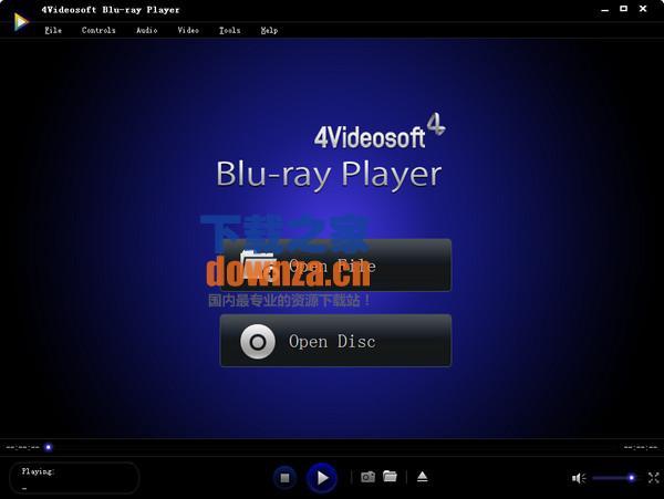 蓝光高清播放器(4Videosoft Blu-ray Player)