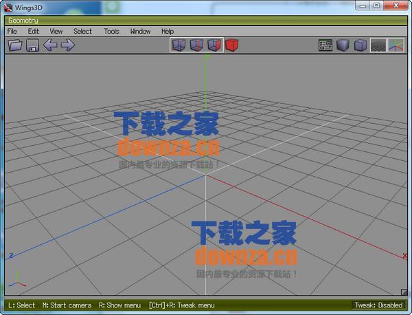 Wings 3D(3d细分建模)