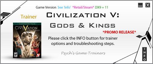 文明5众神与国王修改器+20