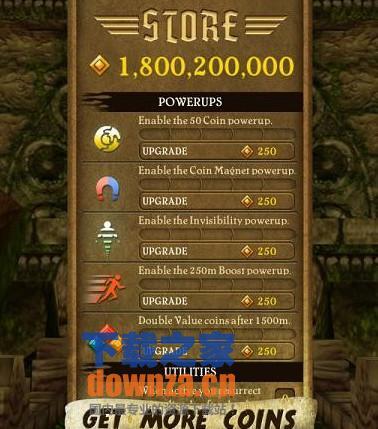 ipad神庙逃亡18亿金币完美存档
