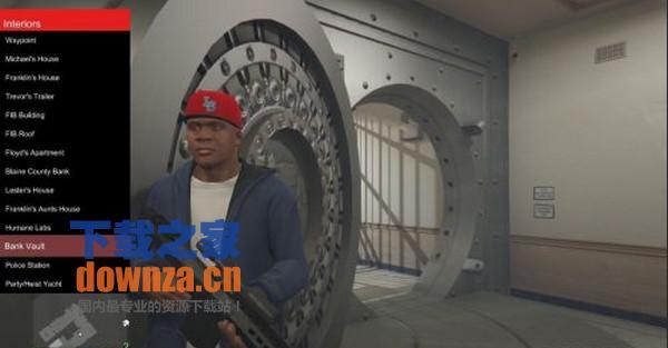 GTA5pc版游戏场景传送修改器MOD
