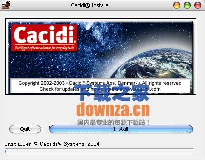 Cacidi Systems Contact Sheet Pro