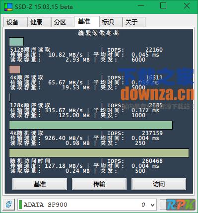 SSD-Z(固态硬盘检测工具)