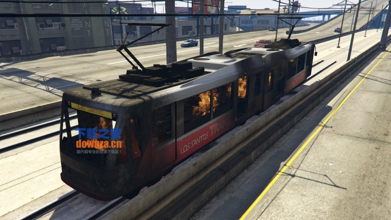 gta5脆弱的火车MOD