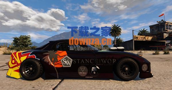GTA5 Stance Nation R7涂装MOD
