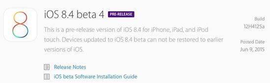iOS 8.4 Beta 4才来,iOS 9解锁密码就升级到6位
