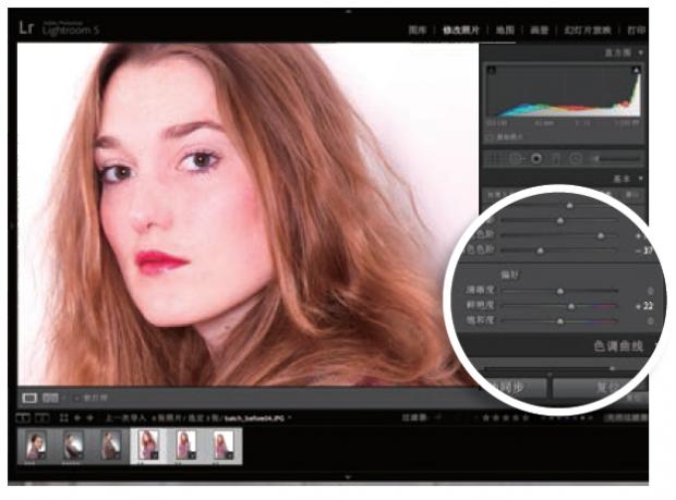 用Lightroom批量处理图片应如何操作?