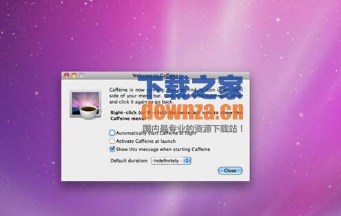 mac屏幕不休眠(Caffeine)