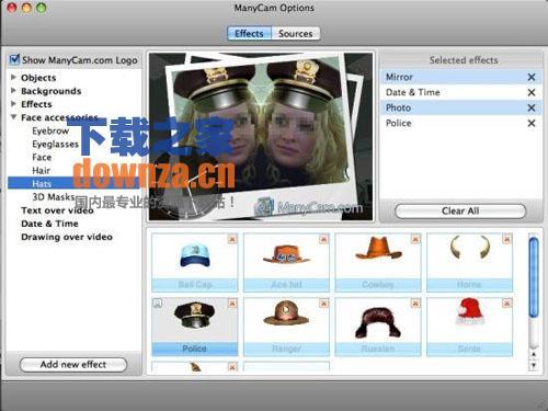 乐趣摄影头 ManyCam for Mac OS X