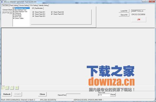 JM606/JM607开卡工具MPTool A.2.03.103