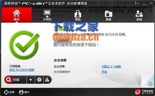 pc-cillin云安全软件