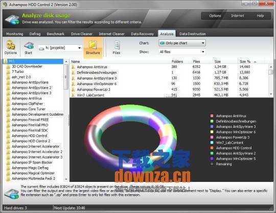 阿香婆硬盘维护工具 Ashampoo HDD Control