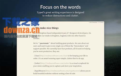 Typed for mac