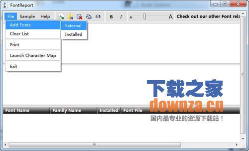 FontReport(字体预览器)