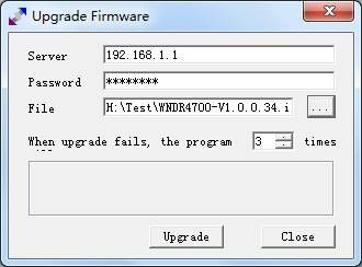 无线路由tftp修复软件(Upgrade Firmware)