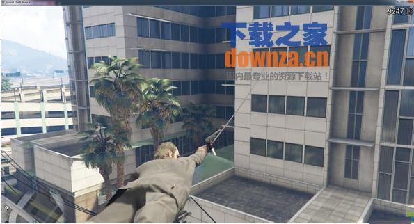GTA5二代索钩枪MOD