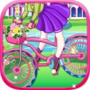 炫彩单车女孩