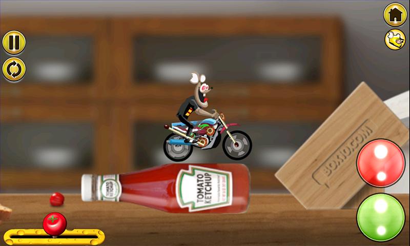厨房摩托模拟驾驶