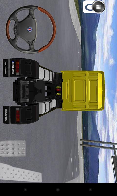 3D模拟开大货车