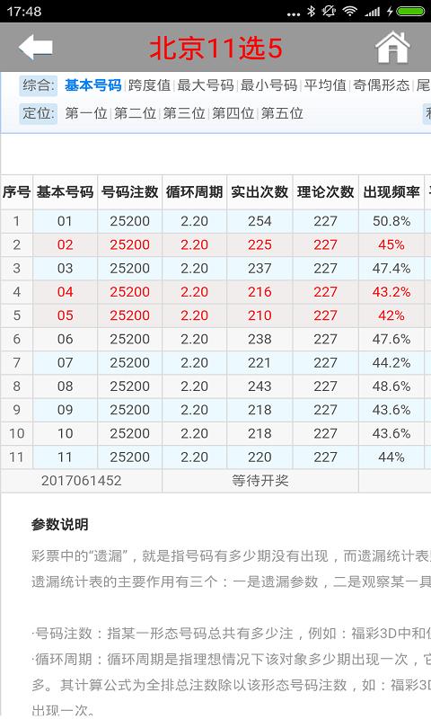 北京十一選五
