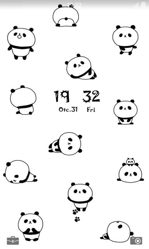 小熊猫壁纸锁屏