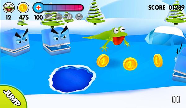 冰上青蛙截图