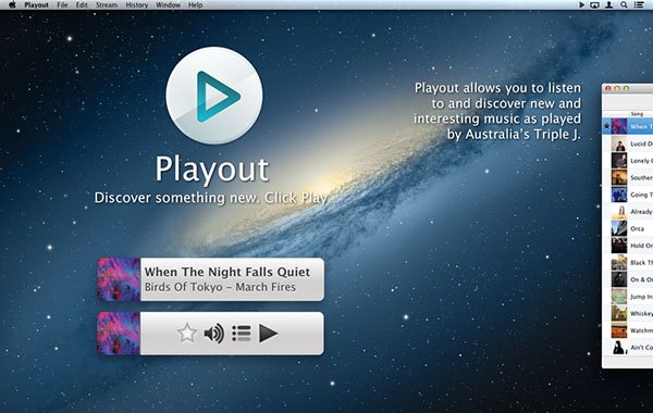 Playout Radio截图
