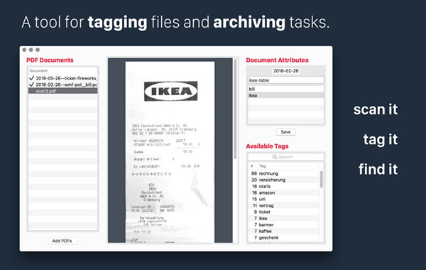 PDF Archiver截图