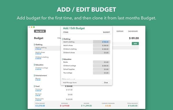 Budget Manager截图