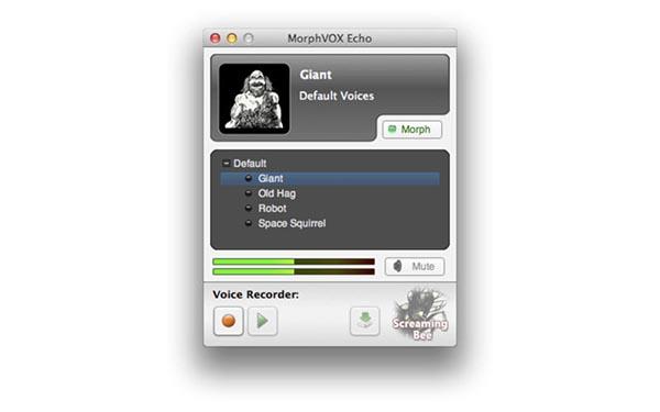 MorphVOX Echo for Mac截图