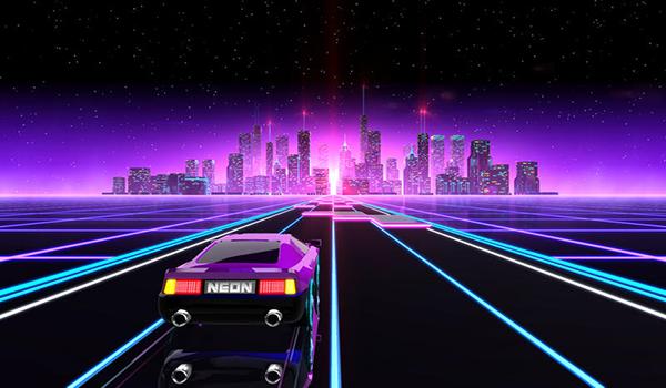 霓虹飙车截图