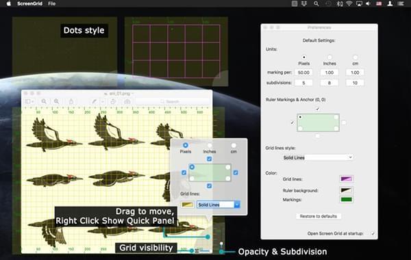 Screen Grid截图
