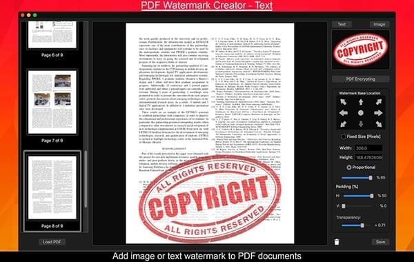 PDF Watermark Creator截图
