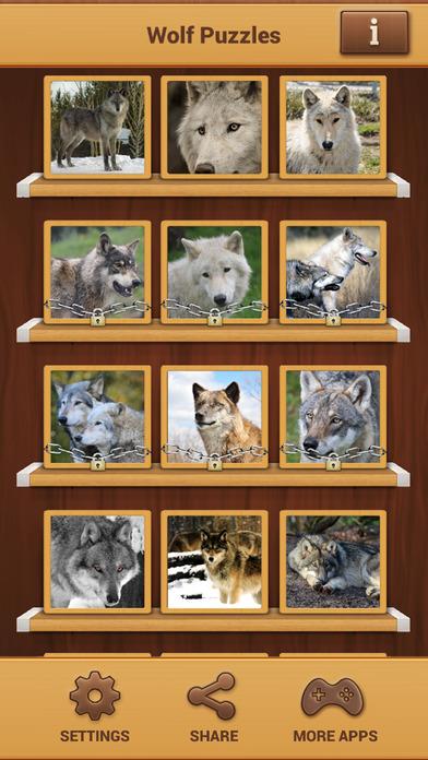 狼拼图游戏  v1.1