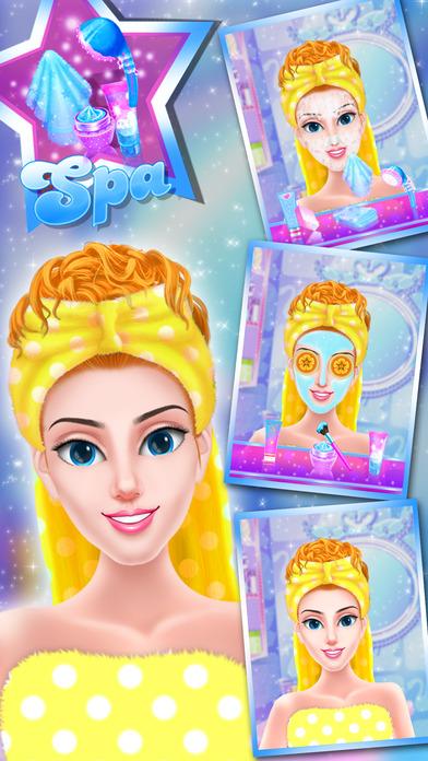 时尚明星娃娃化妆