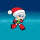 圣诞女孩跑酷